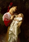 Opis: Mother Holding Child